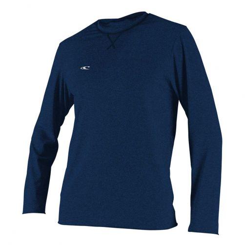 O'Neill---UV-Shirt-für-Herren---langärmlig---Hybrid-Sun---Tiefseeblau