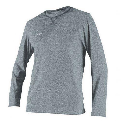 O'Neill---Hybrid-UV-Shirt-für-Herren---Langarm---Grau