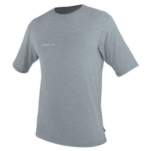 O'Neill---UV-Shirt-für-Herren---kurzärmlig---Hybrid-Sun---Grau