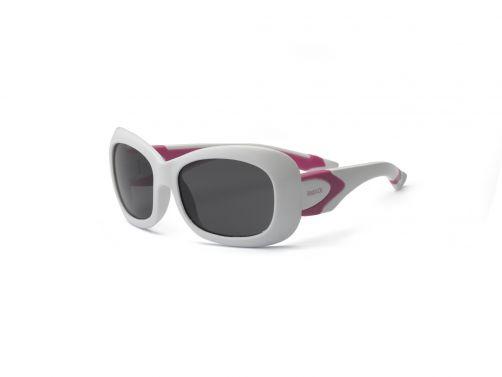 Real-Kids-Shades---UV-Sonnenbrille-für-Kinder---Weiß-/-Rosa