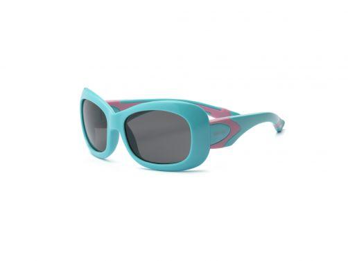 Real-Kids-Shades---UV-Sonnenbrille-für-Kinder---Breeze---Türkis/Rosa