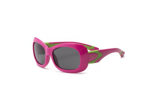 Real-Kids-Shades---UV-Sonnenbrille-für-Kinder---Pink-/-Lemon-Grün