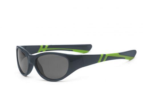 Real-Kids-Shades---UV-Sonnenbrille-für-Kinder---Anthrazit-/Grün