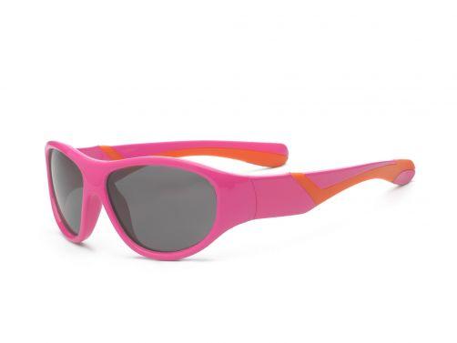 Real-Kids-Shades---UV-Sonnenbrille-für-Kinder---Pink-/-Orange