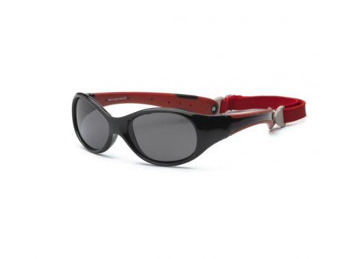 Real-Kids-Shades---UV-Sonnenbrille-für-Kinder---Schwarz/Pink