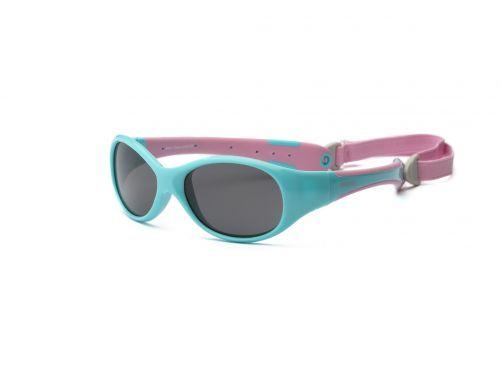Real-Kids-Shades---UV-Sonnenbrille-für-Kinder---Türkis-/-Rosa