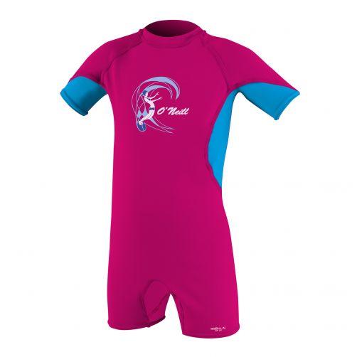 O'Neill---UV-Schwimmanzug-für-Mädchen---Slim-Fit---Pink-/-Blau