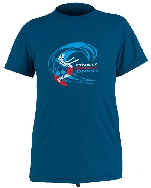 O'Neill---UV-Shirt-für-Jungen---kurzärmlig---O'Zone-Sun---Blau