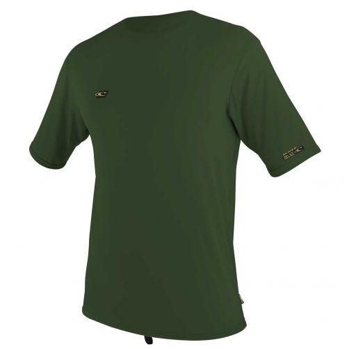O'Neill---UV-Shirt-für-Herren---kurzärmlig---Premium-Sun---Olivgrün