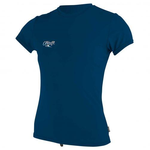 O'Neill---UV-Shirt-für-Mädchen---kurzärmlig---Premium-Sun---Tiefseeblau