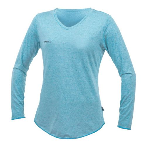 O'Neill---UV-Shirt-für-Damen---langärmlig---Hybrid-Sun---Türkis