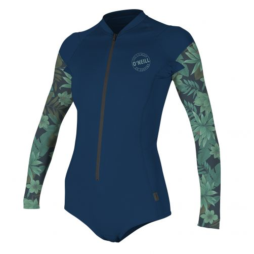 O'Neill---UV-Badeanzug-für-Damen---langärmlig---Performance---Multi