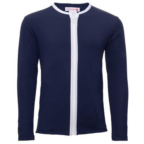 Petit-Crabe---UV-Shirt-Rashguard---Stern---Blau