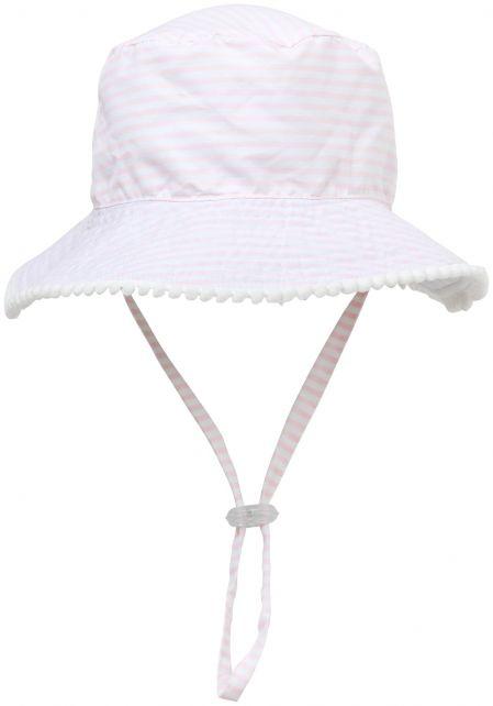 Snapper-Rock---UV-Bucket-Hut-für-Kinder---Umkehrbar---Weiß/Rosa