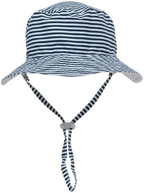 Snapper-Rock---UV-Bucket-Hut-für-Kinder---Umkehrbar---Weiß/Navy