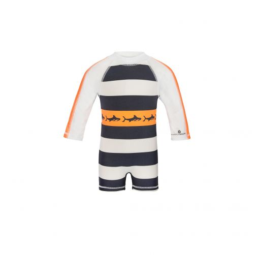Snapper-Rock---Tribal-Shark-LS-Sunsuit
