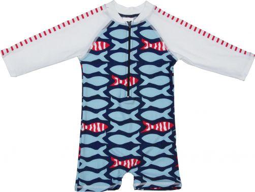 Snapper-Rock---UPF50+-Anzug-mit-langem-Arm-Baby-Fische