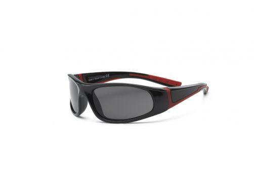 Real-Kids-Shades---UV-Sonnenbrille-für-Kinder---Bolt---Schwarz-/-Rot