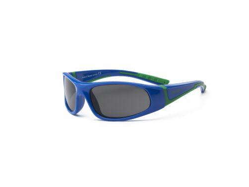 Real-Kids-Shades--UV-Sonnenbrille-Kinder---Bolt---Royal-Blau-/-Grün