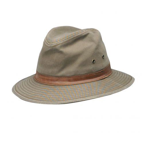 Dorfman-Pacific---UV-Safari-Hut-für-Männer---Braun