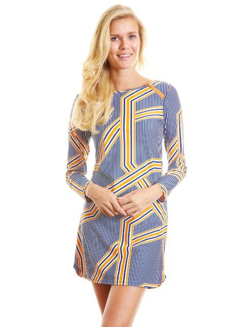 Cabana-Life---UPF50+-Orange-Drive---Zip-Schulter-UV-Kleid