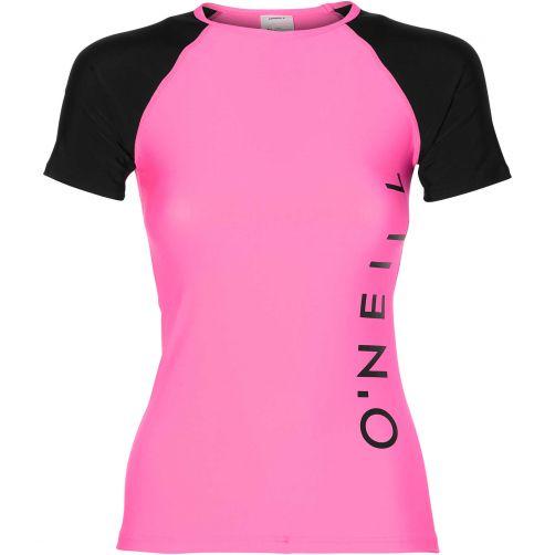 O'Neill---UV-Badeshirt-für-Damen---Pink