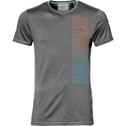 O'Neill---UV-Shirt-für-Herren---Shoreline---Dunkelgrau