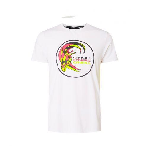 O'Neill---Kurzärmliges-UV-Shirt-für-Herren---Weiß
