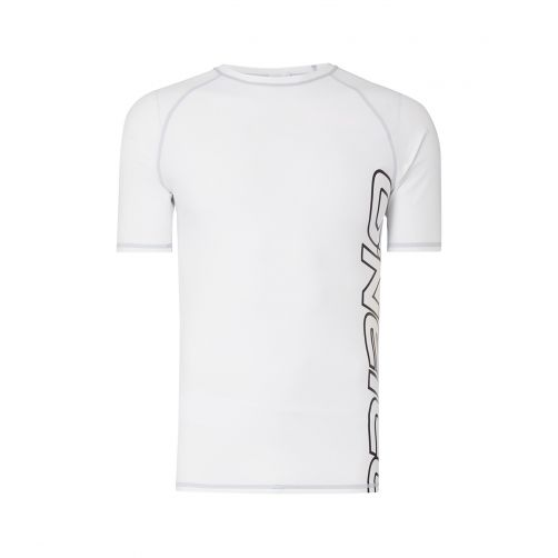 O'Neill---UV-Shirt-für-Herren---Kurzärmlig---Weiß