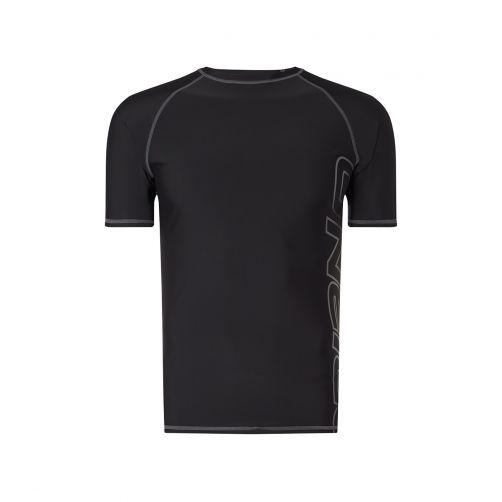 O'Neill---UV-Shirt-für-Herren---Kurzärmlig---Schwarz