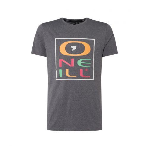 O'Neill---Kurzärmliges-UV-Shirt-für-Herren---Grau