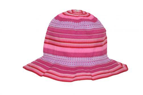 Rigon---UV-Sonnenhut-für-Kinder---Chloe---Pinke-Streifen