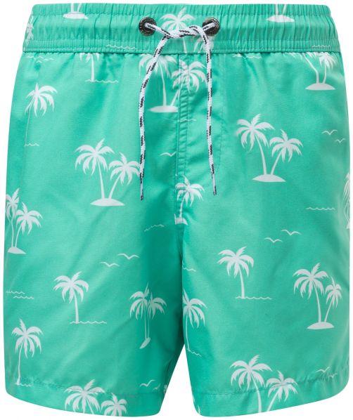 Snapper-Rock---Boardshorts-für-Jungen---Morada-Palm---Türkis
