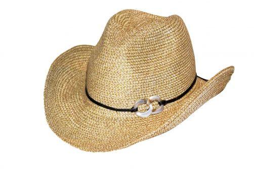 Rigon---UV-Cowboyhut-für-Damen---Byron---Naturfarben