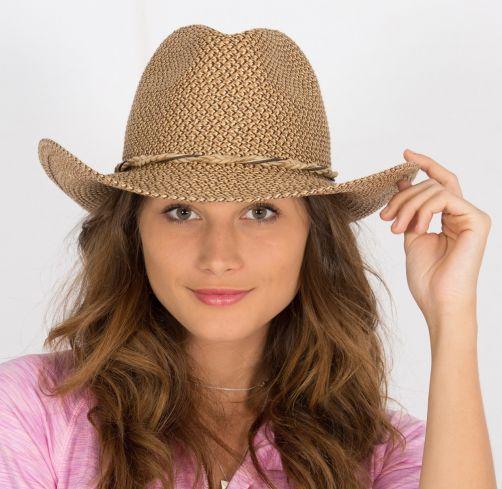 Rigon---UV-Cowboyhut-für-Damen---Byron---Schoko