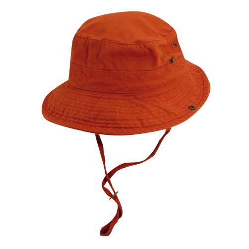 Dorfman-Pacific---UV-Schutz-Bucket-Hut-für-Herren---Blau/Orange