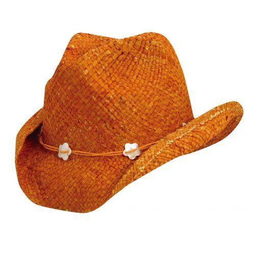 Scala---Cowgirl-Hut-für-Kinder---Orange