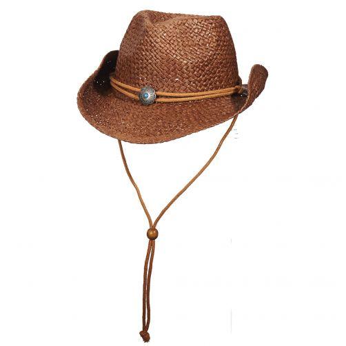 Scala---Cowgirl-Hut-für-Kinder---braun