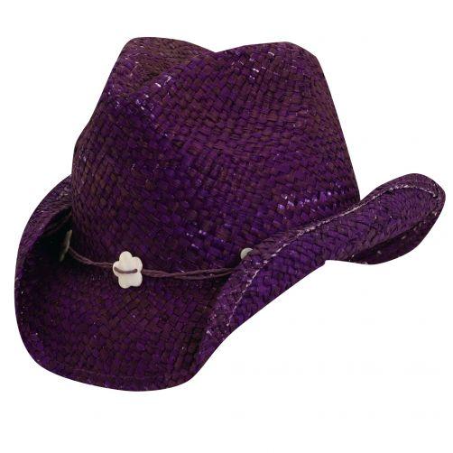 Scala---Cowgirl-Hut-für-Kinder---lila