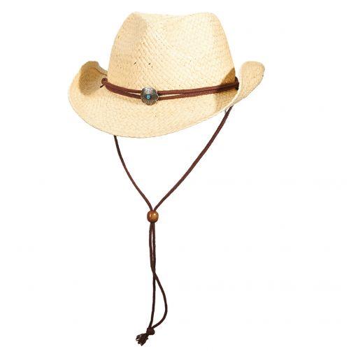 Scala---Cowgirl-Hut-für-Kinder---natur