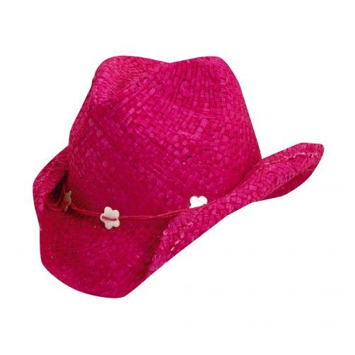 Scala---Cowgirl-Hut-für-Kinder---Fuchsia