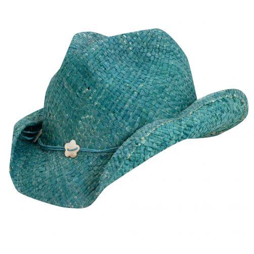 Scala---Cowgirl-Hut-für-Kinder---Turquoise