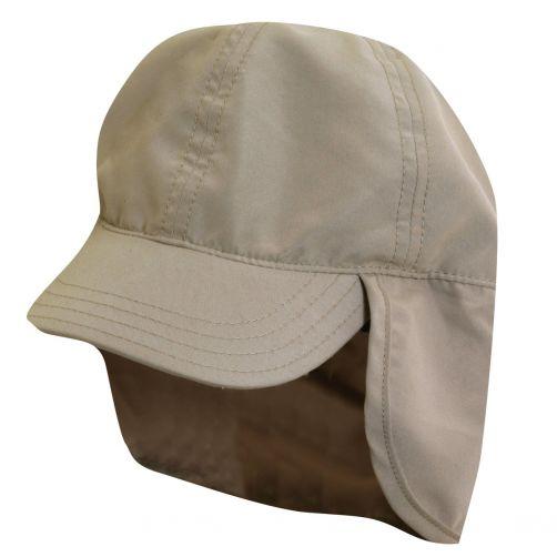 Scala---Mütze-mit-Nackenschutz-für-Kinder---khaki