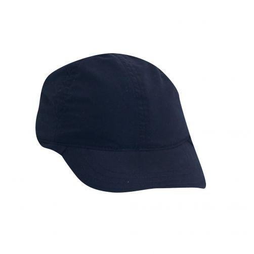 Scala---Mütze-mit-Nackenschutz-für-Kinder---blau