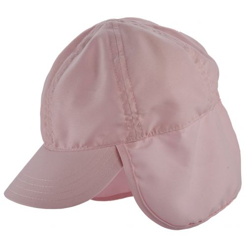 Scala---Mütze-mit-Nackenschutz-für-Kinder---Pink