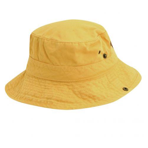 Dorfman-Pacific---UV-Schutz-Hut-für-Kinder---Gelb-/-Blau