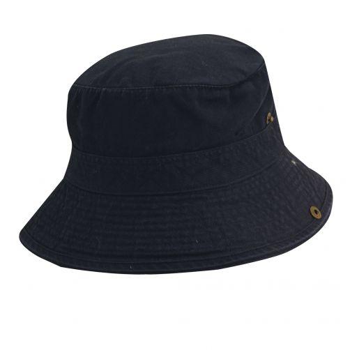 Dorfman-Pacific---UV-Schutz-Hut-für-Kinder---Blau-/-Orange