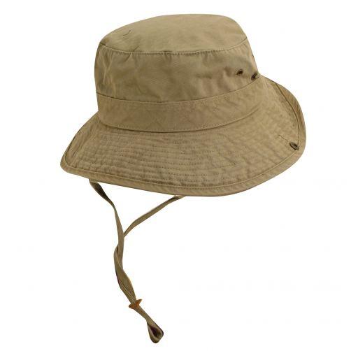 Dorfman-Pacific---UV-Schutz-Hut-für-Kinder---Kaki-/-Olive