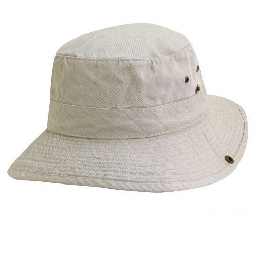 Dorfman-Pacific---UV-Schutz-Hut-für-Kinder---Altweiß-/-Olive