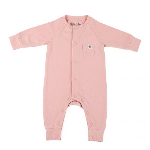 Cloby---UV-Schutz-Strampler-für-Babys---Misty-Rose